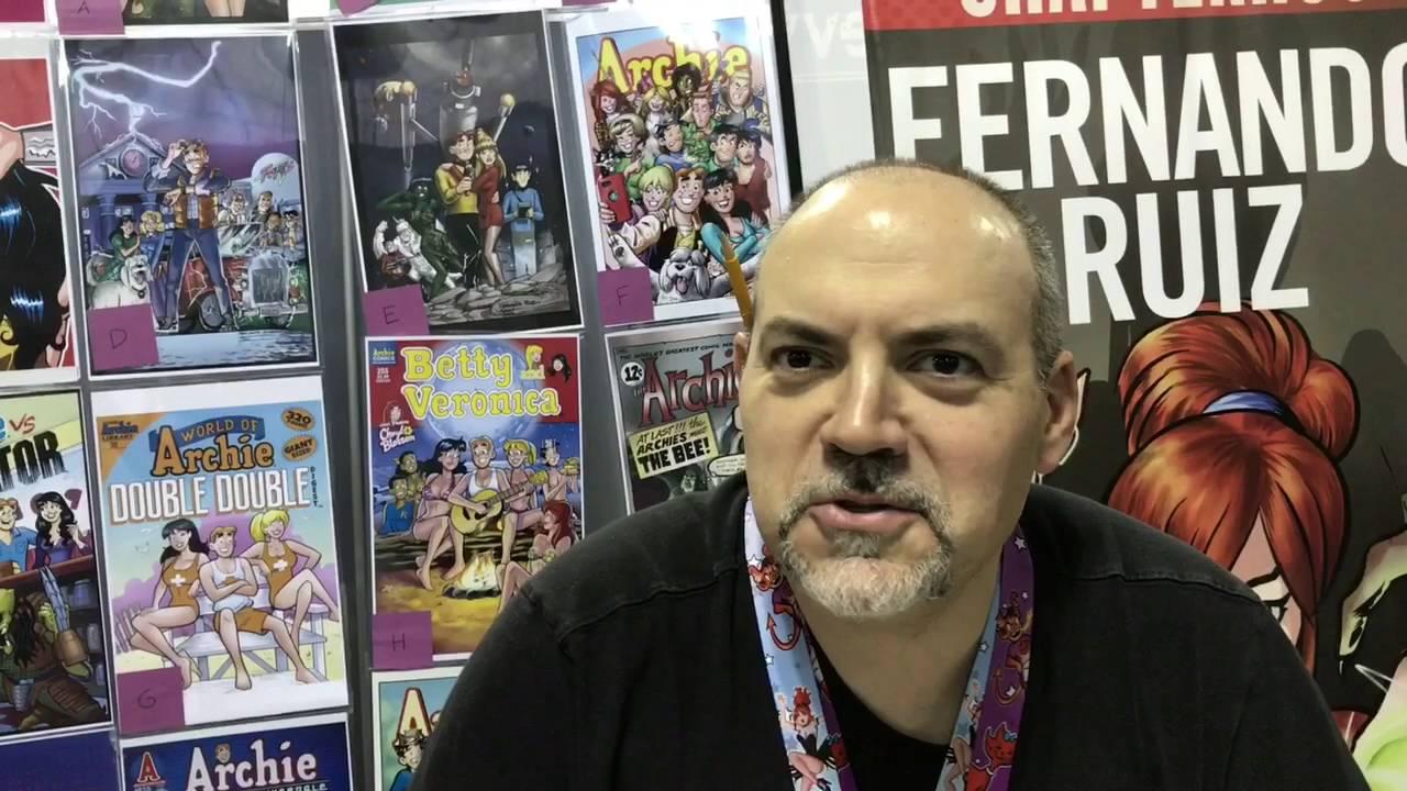Fernando Ruiz Interview (Archie / Die Kitty Die) #nycc #comiccon
