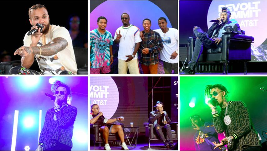 """Swiss Beatz, Timbaland, Jeezy Kick Off Sean """"Diddy"""" Combs REVOLT x AT&T Summit"""
